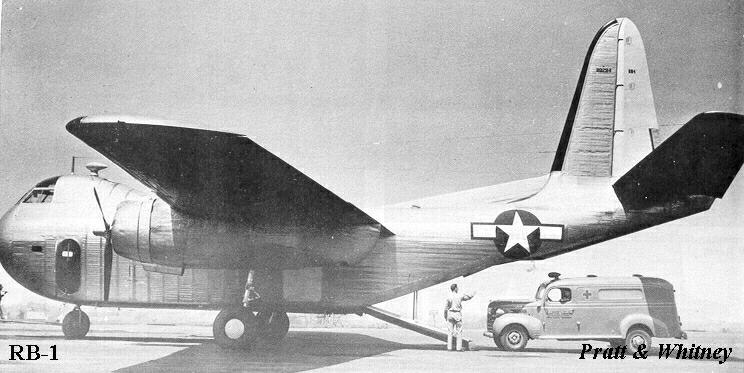 American Ww2 Planes >> Budd RB Conestoga, by Jack McKillop
